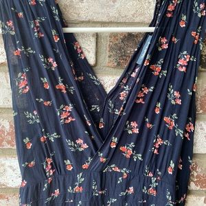ModCloth Empire Waist Floral Maxi Dress